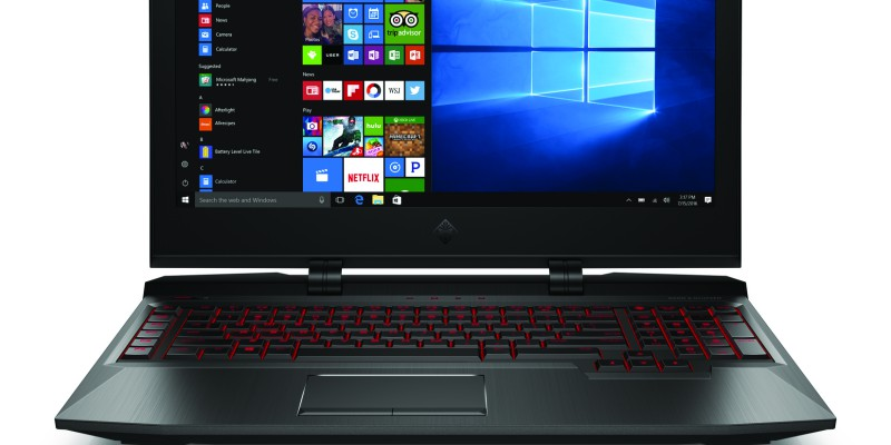 OMEN X Laptop_CoreSet_Front_Win10