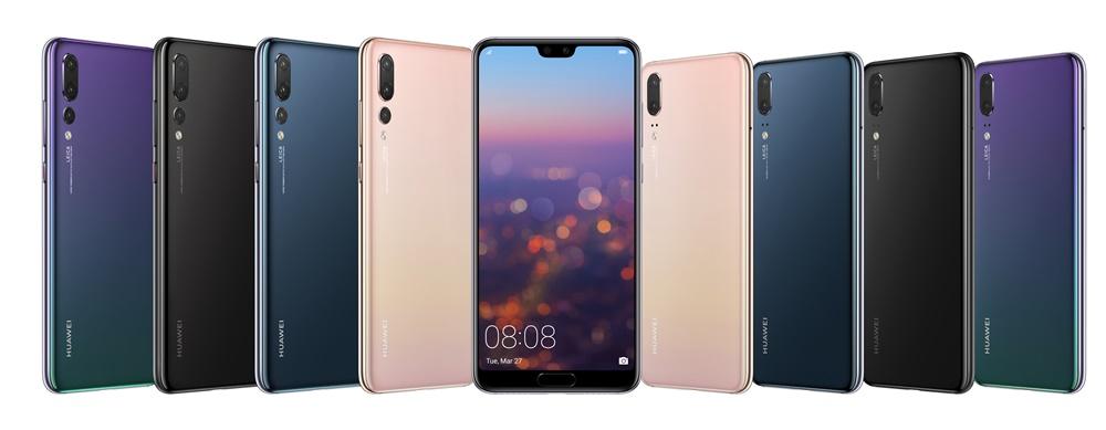 Huawei P20 Pro si Huawei P20
