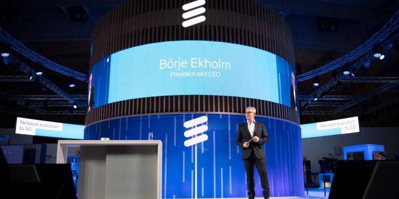 Börje Ekholm MWC 2019